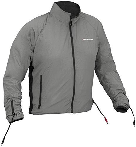 Firstgear 90-Watt Warm and Safe Mens Grey Heated Jacket Liner M