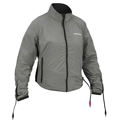 Firstgear 90-Watt Warm and Safe Womens Grey Heated Jacket Liner L