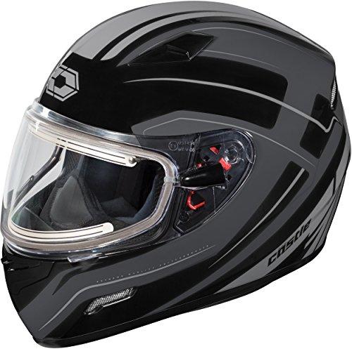 Castle X Mugello Maker Electric Snowmobile Helmet LRG Black
