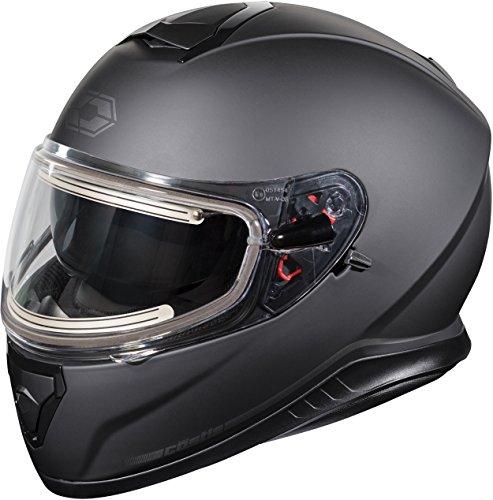 Castle X Thunder 3 SV Electric Snowmobile Helmet XLG Matte Black