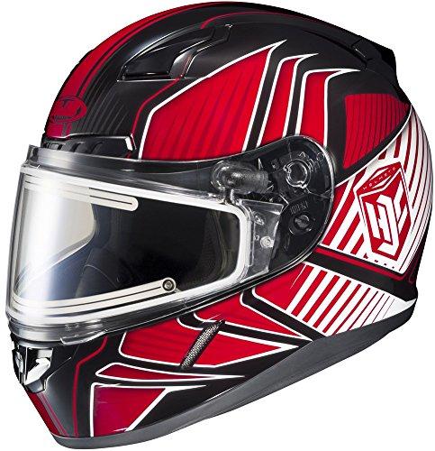 HJC CL-17 Redline - Electric Snowmobile Helmet - RedBlack - XXX-Large