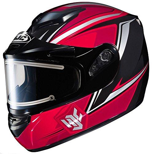 HJC CS-R2 Seca - Electric Snowmobile Helmet - Red - Large