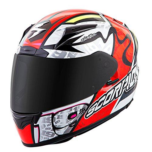 Scorpion EXO-R2000 Bautista Motorcycle Helmet Neon Red XX-Large