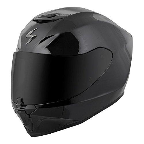 Scorpion EXO-R420 Full-Face Solid Helmet Gloss Black Medium More Size Options