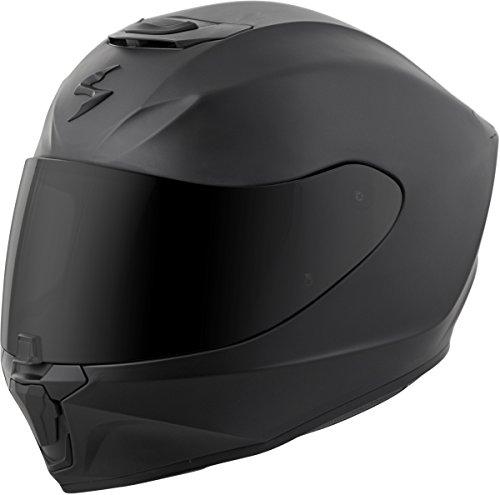 Scorpion EXO-R420 Full-Face Solid Street Bike Motorcycle Helmet - Matte Black  Large