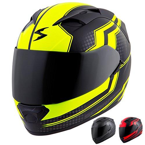 Scorpion EXO-T1200 Alias Street Motorcycle Helmet Red X-Large
