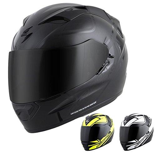 Scorpion EXO-T1200 Freeway Street Motorcycle Helmet Matte Black Medium
