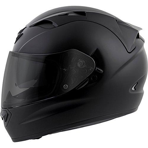Scorpion EXO-T1200 Solid Street Motorcycle Helmet Matte Black X-Large