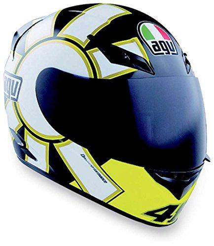 AGV K3 Gothic Helmet  Size Md Primary Color Black Distinct Name Gothic Black Helmet Type Full-face Helmets Helmet Category Street Gender MensUnisex 032150A0008007