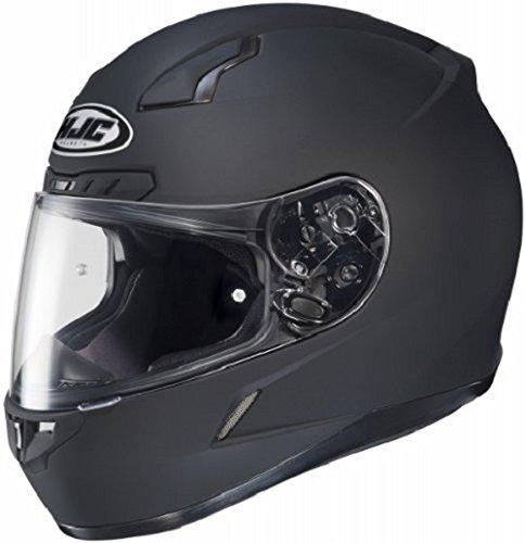 HJC CL-17 Full-Face Motorcycle Helmet Matte Black Medium
