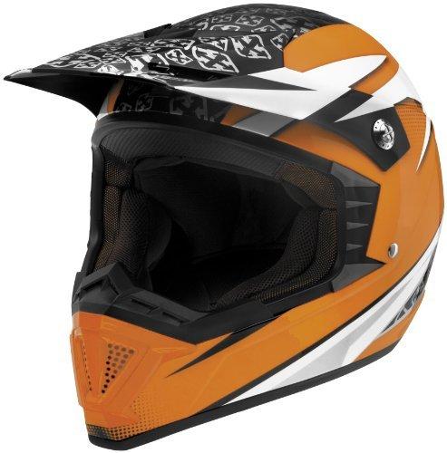 Sparx Shotgun Stealth Helmet Helmet Type Offroad Helmets Helmet Category Offroad Distinct Name Stealth Orange Primary Color Orange Size Lg Gender MensUnisex 843923