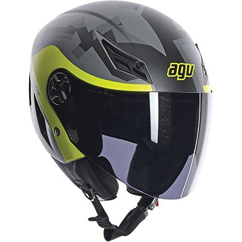 AGV Blade Camodaz Adult Helmet - GreyHi-Viz  Large
