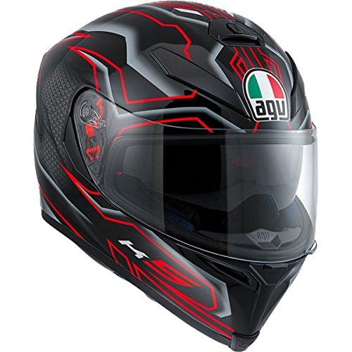 AGV K-5 S Deep Adult Helmet - BlackRed  Large