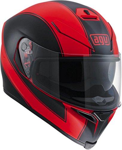 AGV K-5 S Enlace Adult Helmet - RedBlack  Large