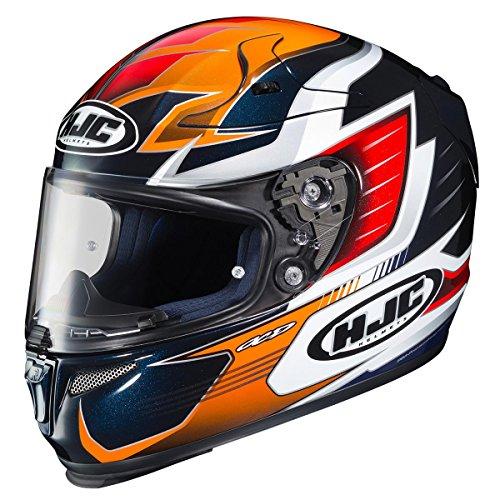 HJC Helmets RPHA-10 Unisex-Adult Full Face Pro ELSWORTH Street Motorcycle Helmet Multi Large