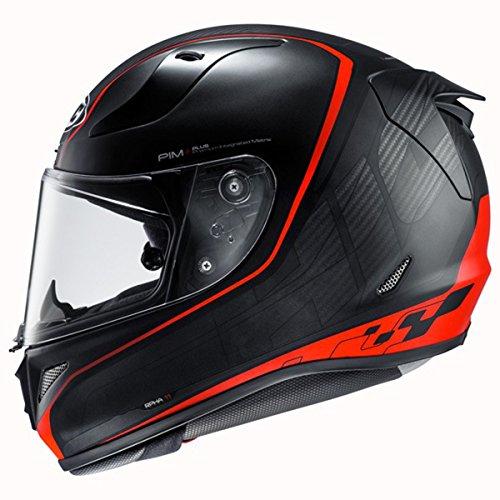 HJC Pro Riberte Mens RPHA 11 Street Bike Motorcycle Helmet - MC1SF Large