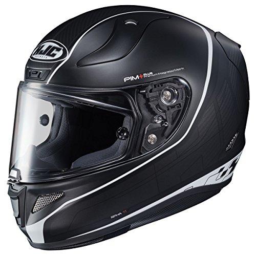 HJC Pro Riberte Mens RPHA 11 Street Bike Motorcycle Helmet - MC5SF Large