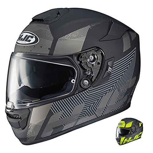 HJC RPHA-ST Knuckle Full Face Street Motorcycle Helmet MC-5F Black Large
