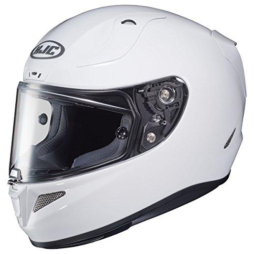 HJC Solid Pro Mens RPHA 11 Street Bike Motorcycle Helmet - White Large