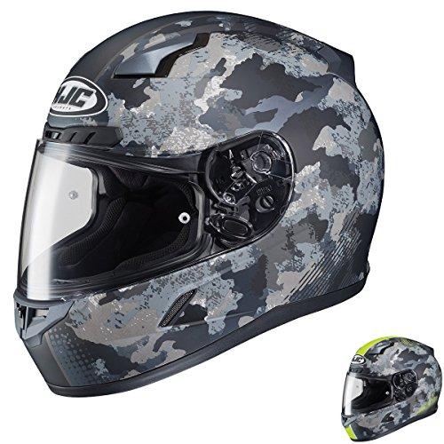 HJC CL-17 Void Matte BlackCamo Full Face Helmet - Large