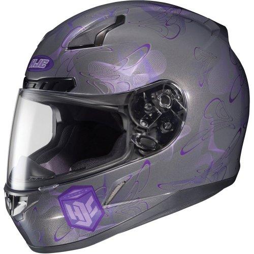 HJC Mystic Womens CL-17 Sports Bike Racing Motorcycle Helmet - MC-11  X-Small