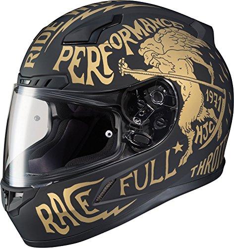 HJC Rebel Mens CL-17 Street Bike Motorcycle Helmet - MC-9F  Large