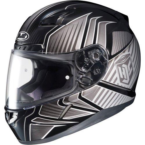 HJC Redline Mens CL-17 Street Racing Motorcycle Helmet - MC-5  Small