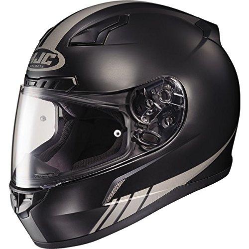 HJC Streamline Mens CL-17 Sports Bike Motorcycle Helmet - MC-5GF  Medium