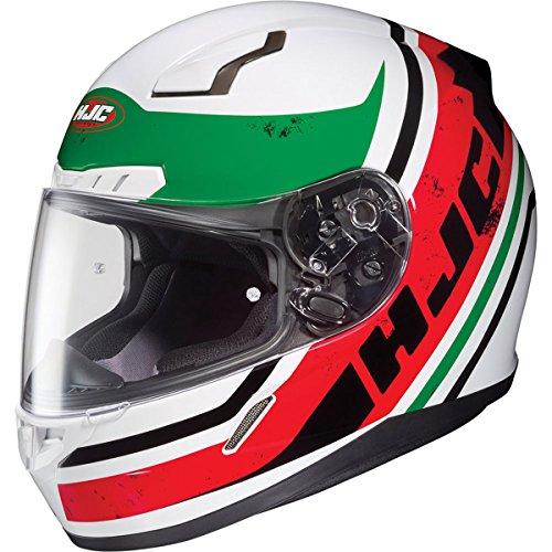 HJC Victory Mens CL-17 Sports Bike Motorcycle Helmet - MC-1  Large