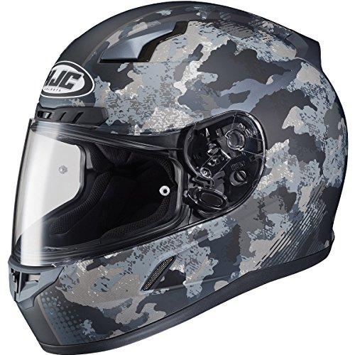 HJC Void Adult CL-17 Street Motorcycle Helmet - MC-5F  Medium