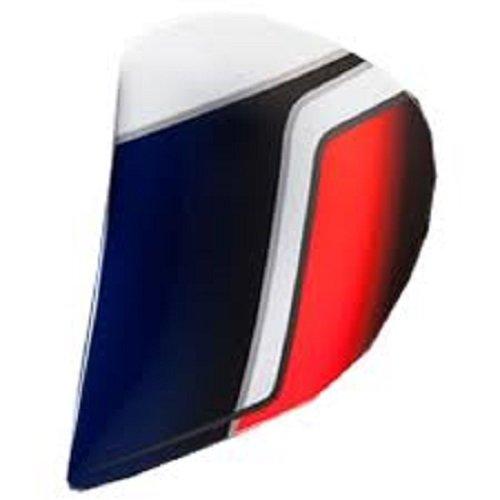 Arai Helmets Shield Cover Set for RX-Q Helmet - Electric Tri 5245