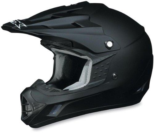 AFX FX-17 Solid Helmet  Size 3XL Primary Color Black Helmet Type Offroad Helmets Helmet Category Offroad Distinct Name Flat Black Gender MensUnisex 0110-2586