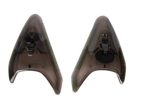 Arai Helmets TDF Duct-3 Vent Set for RX-Q Helmets - Smoke 4970