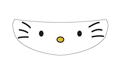 SkullSkins Hello Kitty Universal Full Face Motorcycle Helmet Windscreen Graphic Visor Tint Shield Sticker Decal