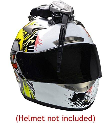UVIA Helmet Visor Shield Wiper for Motorcyle ATV Scooter Supermotard Ski Snowboard Jet Ski etc will fit most Arai Shoei AGV Suomy Z1R KBC HJC Bell Nolan X-Lite Shark Schubeth Kabuto Joe Rocket