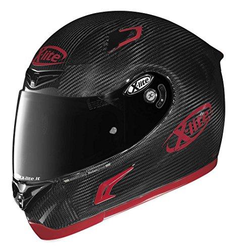X-lite XU85273420085 X-802RR Ultra Carbon Puro Helmet Gender MensUnisex Primary Color Black Helmet Type Full-face Helmets Helmet Category Street Distinct Name Carbon Red Size Sm