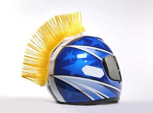 Hairy-Rs Helmet Mohawk Yellow