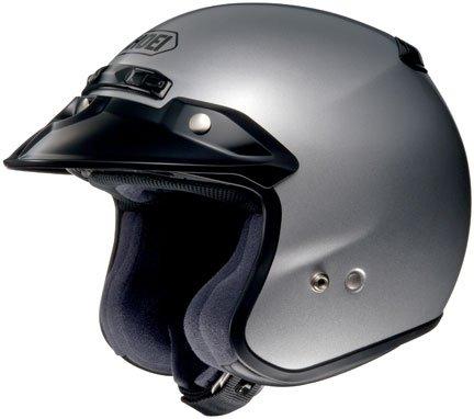 Shoei RJ Platinum-R Helmets Large Light Silver