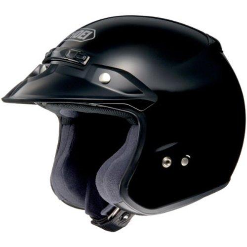 Shoei Solid RJ-Platinum R Cruiser Motorcycle Helmet - Black  Medium