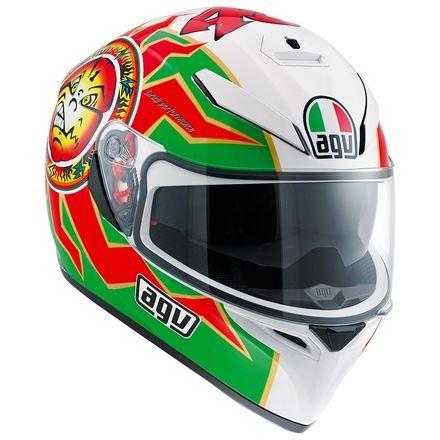 AGV K-3 SVSun-Visor Full-Face Helmet Imola 1998VR46 Valentino Rossi Replica XS