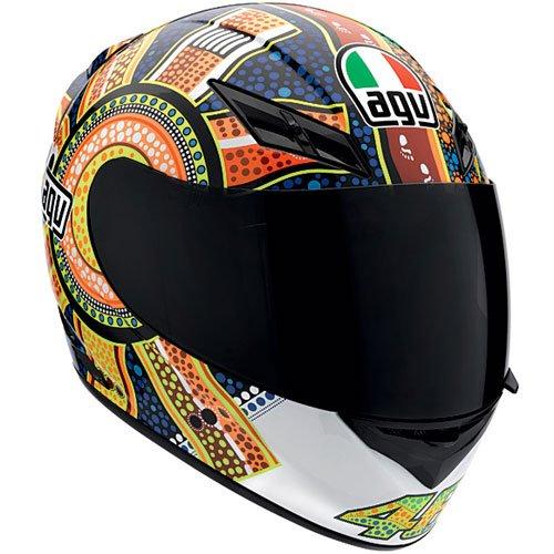 AGV K3 Dreamtime Valentino Rossi Motorcycle Helmets Dreamtime Md