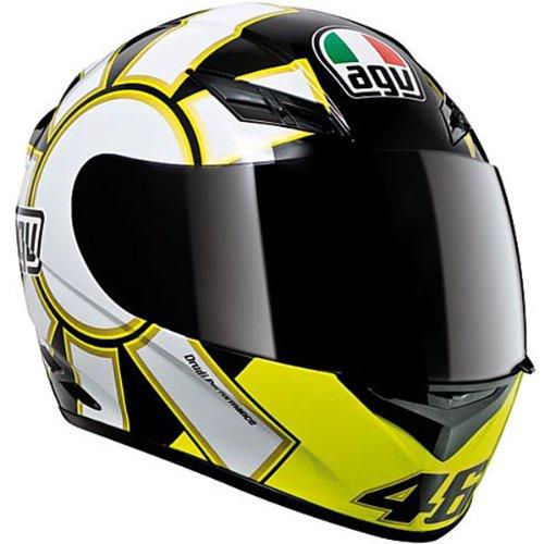 AGV K3 Gothic Valentino Rossi Replica Helmets Gothic Black Xl