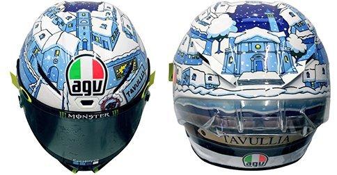AGV Pista GP R Carbon Helmet 2017 Valentino Rossi Winter Test 2017 DOT S