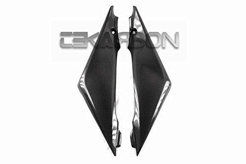 2005 - 2006 Suzuki GSXR 1000 Carbon Fiber Side Tank Panels - Short