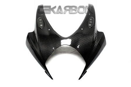 2007 - 2008 Suzuki GSXR 1000 Carbon Fiber Front Fairing - Twill