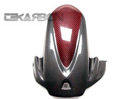 2009 - 2015 Suzuki GSXR 1000 Carbon Fiber Rear Hugger Red Black