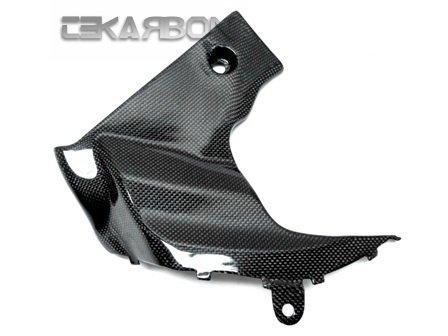 2009 - 2015 Suzuki GSXR 1000 Carbon Fiber Side Fairing Panels - LH