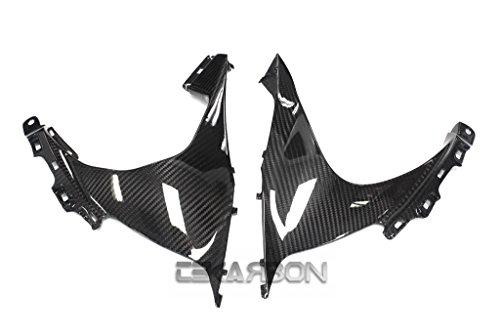 2009 - 2015 Suzuki GSXR 1000 Carbon Fiber Side Fairing Panels - Twill