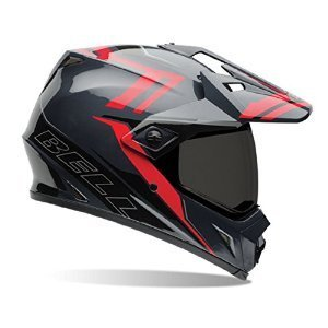 Bell MX-9 Adventure Barricade Red Dual Sport Helmet - Medium