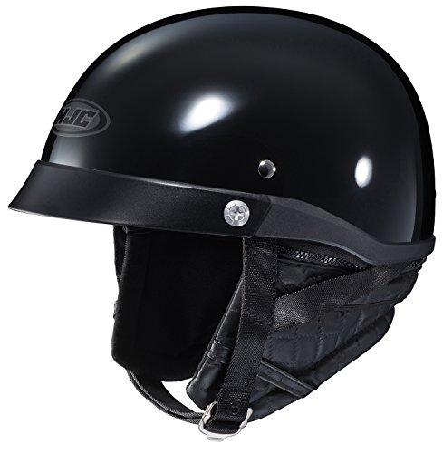 HJC CL-Ironroad Motorcycle Half-Helmet Black Medium